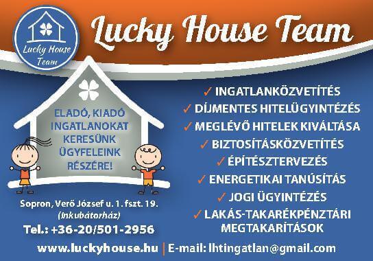 Szerencsés Ház Ingatlaniroda Sopron és környéke