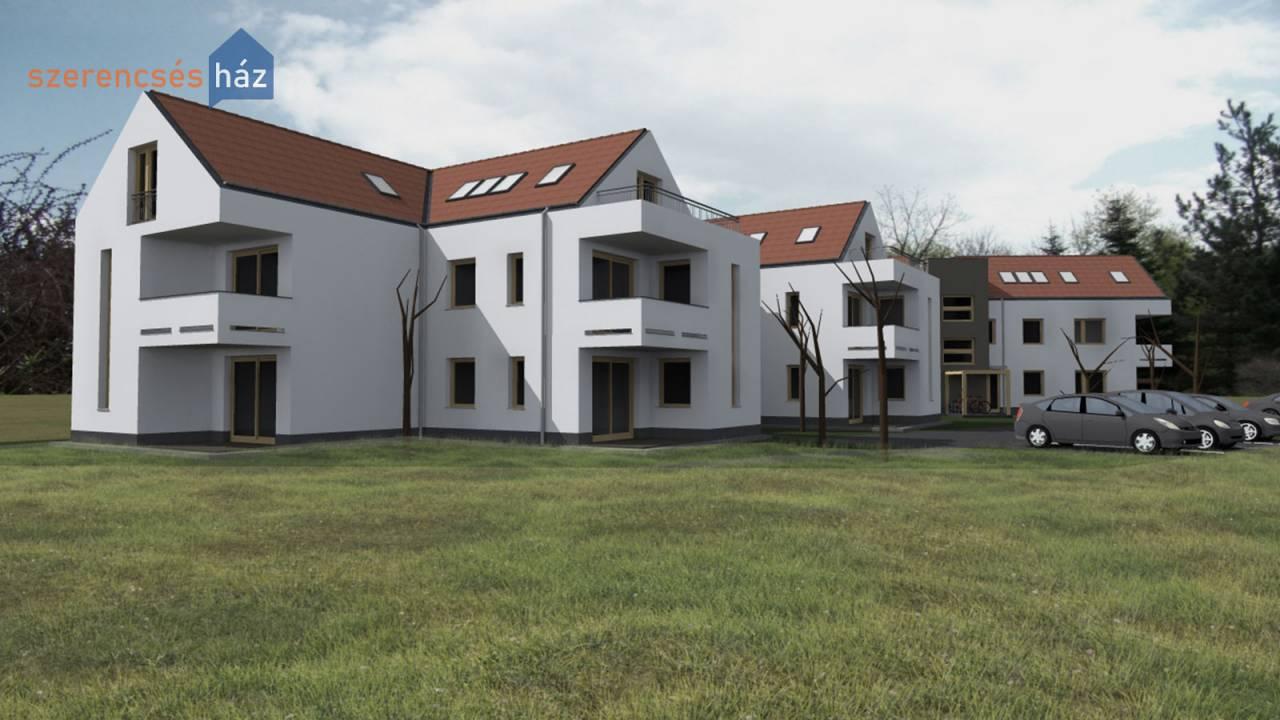 Modern, új építésű lakások Fertődön